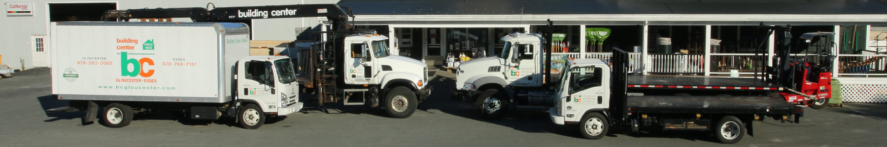 Building Center Delivery Trucks